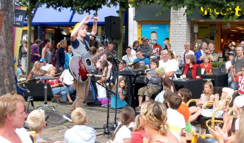 muzikanten op straat